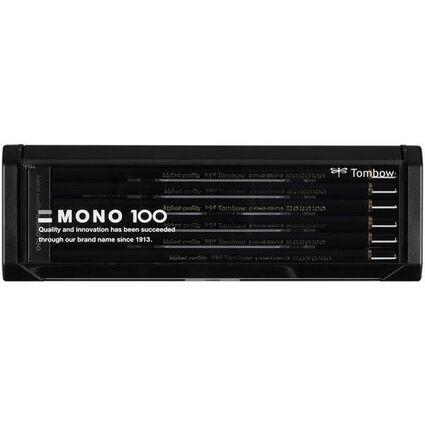 """TOMBOW Bleistift """"MONO 100"""", sechseckig, 12er Set sortiert"""