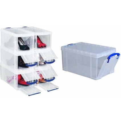 Really Useful Box Aufbewahrungsbox 8 Liter, transparent