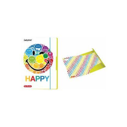 """herlitz Zeichnungsmappe Smileyworld """"Rainbow"""", DIN A3"""