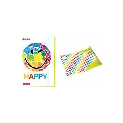 """herlitz Zeichnungsmappe SmileyWorld """"Rainbow"""", DIN A4"""
