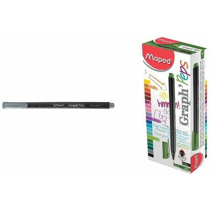 Maped Fineliner Graph'Peps, dunkelbraun