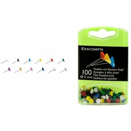 EXACOMPTA Pinnwand-Nadeln, grün