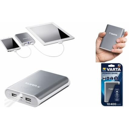 "VARTA Mobiler Zusatzakku ""Powerpack 10400"", 2 x USB"