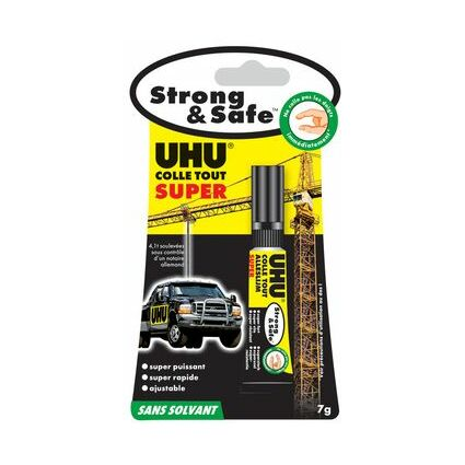 UHU Alleskleber SUPER Strong & Safe, 7 g