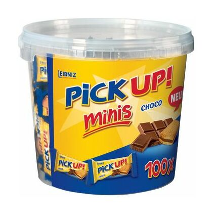 "LEIBNIZ Keksriegel ""PiCK UP! Choco minis"", Vorteilsbox"