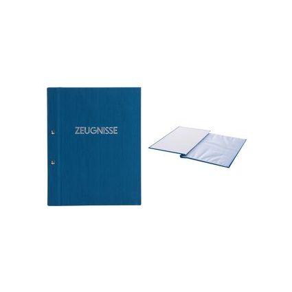 "goldbuch Zeugnismappe ""Colours"", 310 x 240 mm, blau"
