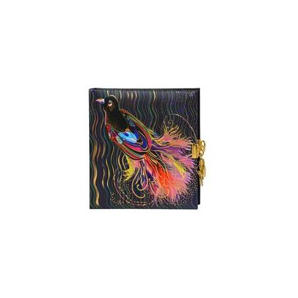 """goldbuch Tagebuch """"Flower Bird"""", 165 x 165 mm"""