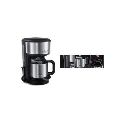 Russell Hobbs Thermo-Kaffeemaschine Oxford 20140-56, silber