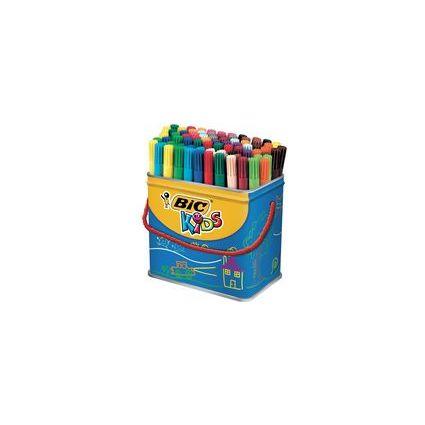 BIC KIDS Fasermaler Visa, 84er Box