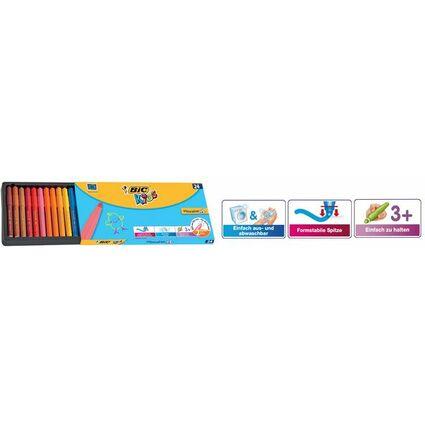 BIC KIDS Fasermaler Visacolor XL, 24er Kartonetui