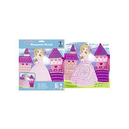 "URSUS Moosgummi-Mosaik ""Glitter Prinzessin"""