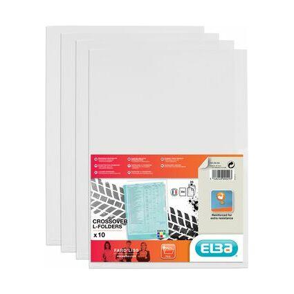 ELBA Sichthüllen DIN A4 Fard'Liss, PVC 0,18 mm, farblos