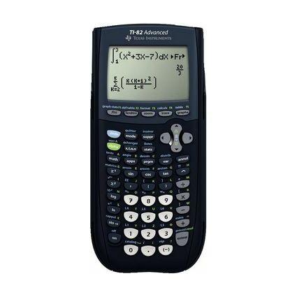 TEXAS INSTRUMENTS Calculatrice TI-82 Advanced