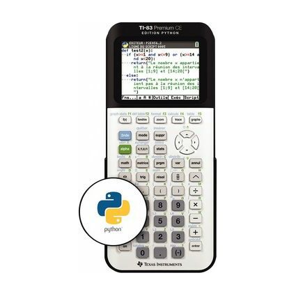 TEXAS INSTRUMENTS Calculatrice TI-83 Premium CE