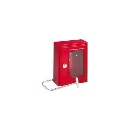 BURG-WÄCHTER Notschlüssel-Kasten mit Hammer, für 1 Schlüssel