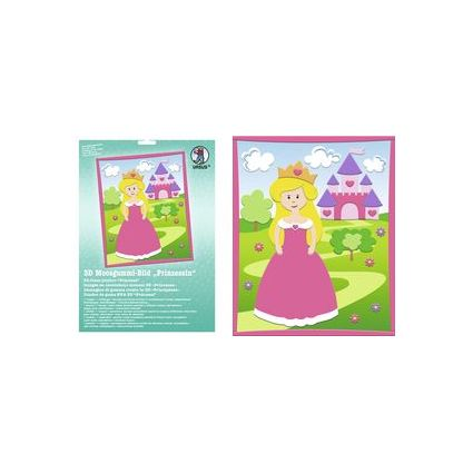 "URSUS 3D Moosgummi-Bild ""Prinzessin"""