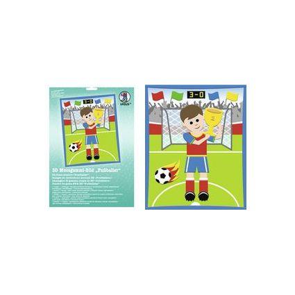 "URSUS 3D Moosgummi-Bild ""Fußballer"""