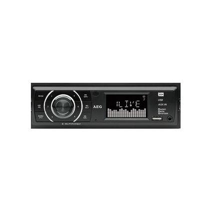 AEG Autoradio AR 4027, schwarz