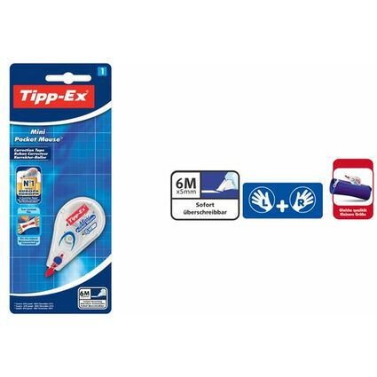"Tipp-Ex Korrekturroller ""Mini Pocket Mouse"", Blister"