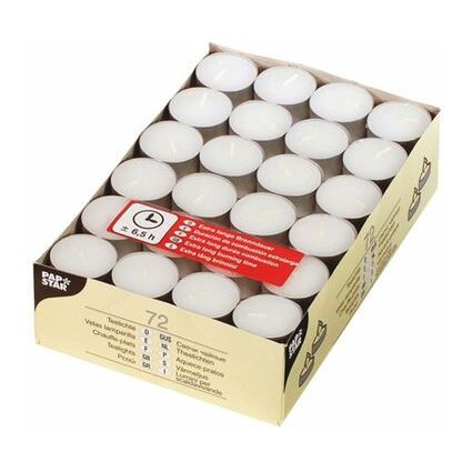PAPSTAR Teelichter, Durchmesser: 39 mm, weiß