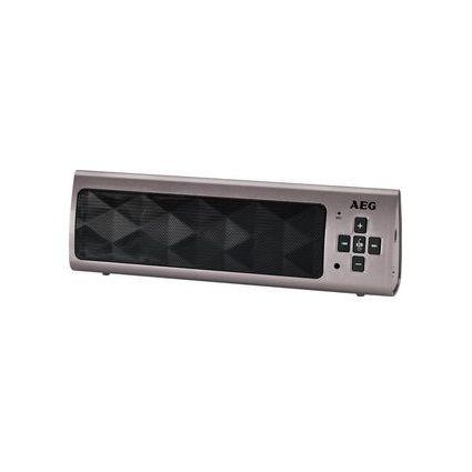 AEG Mobiler Bluetooth Lautsprecher BSS 4818, schwarz