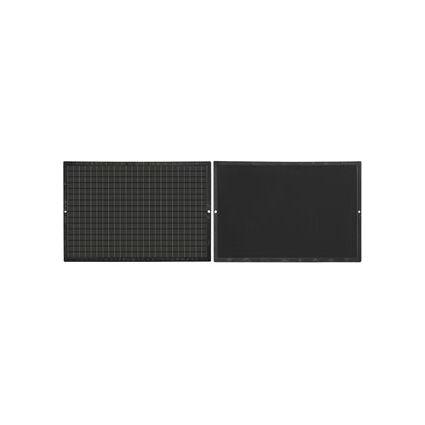 JPC Kunststofftafel, blanko/kariert, (B)160 x (H)240 mm