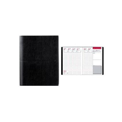 "Oxford Agenda semainier ""First"" 2017, 210 x 270 mm, noir"