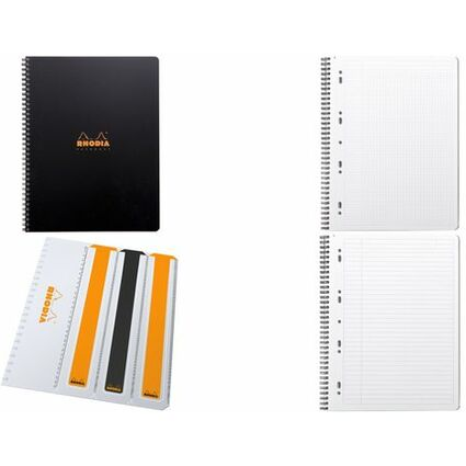 "RHODIA Collegeblock ""Office Note Book"", DIN A4+, liniert"
