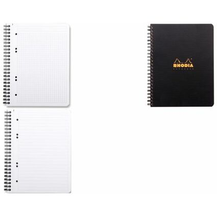 "RHODIA Collegeblock ""Office Note Book"", DIN A5, kariert"