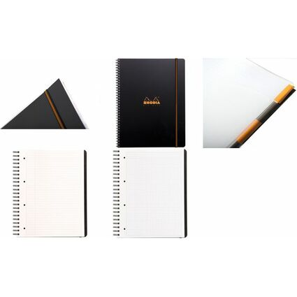 "RHODIA Collegeblock ""Office Pro Book"", DIN A4+, kariert"