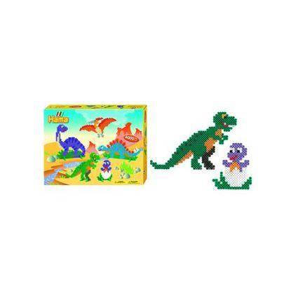 """Hama Bügelperlen midi """"Dinosaurier"""", Geschenkpackung"""