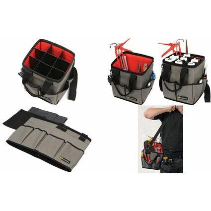 C.K Werkzeugtasche Magma 3-in-1, unbestückt