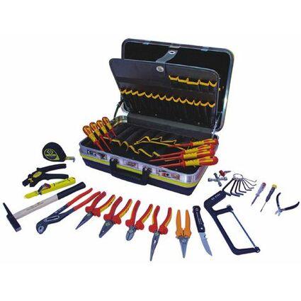 C.K Werkzeugkoffer für Elektriker, 26-teilig