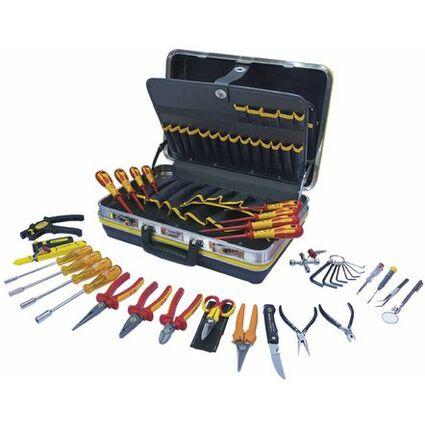 C.K Werkzeugkoffer für Techniker/Elektroniker, 30-teilig