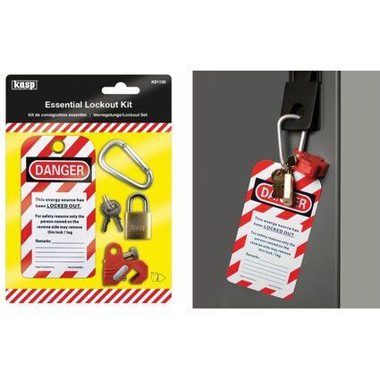 Kasp Verriegelungs- / Lockout Set für Sicherungsschalter