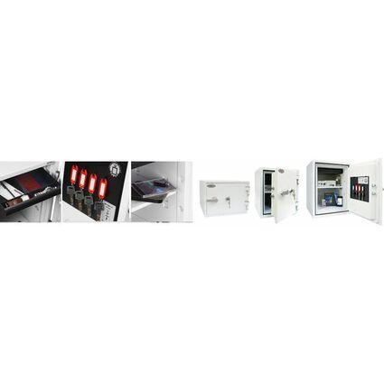 phoenix Dokumentenschutz-Tresor TITAN FS1283K, signalweiß