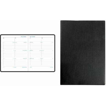 EXACOMPTA Buchkalender Pratic, 2017, Barbara, schwarz