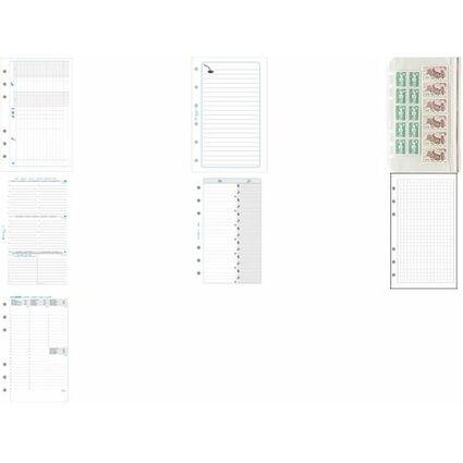 EXACOMPTA Nachfüllung Exatime 17 2017, 1 Tag/Seite (täglich)