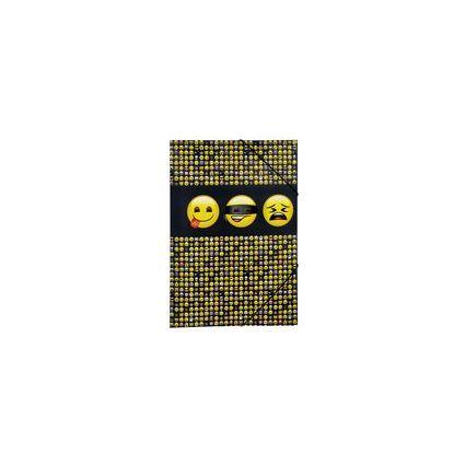 "UNDERCOVER Eckspannermappe ""Emoji"", DIN A3"