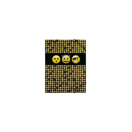 "UNDERCOVER Eckspannermappe ""Emoji"", Modell 2016, DIN A4"