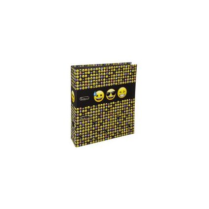 """UNDERCOVER Motivordner """"Emoji"""", Rückenbreite: 80 mm"""