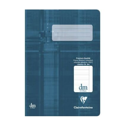 Clairefontaine Schulheft Premium, DIN A5, Lineatur 1