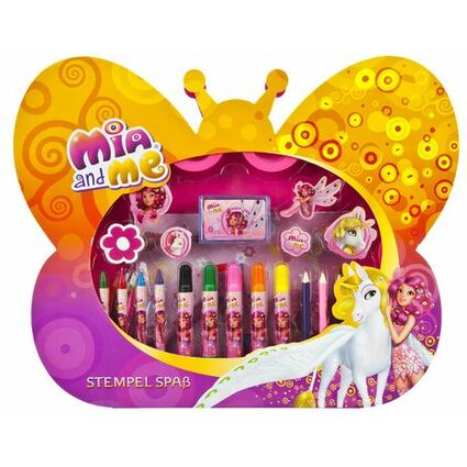 """UNDERCOVER Stempel Spaß """"Mia and Me"""", 46-teilig"""