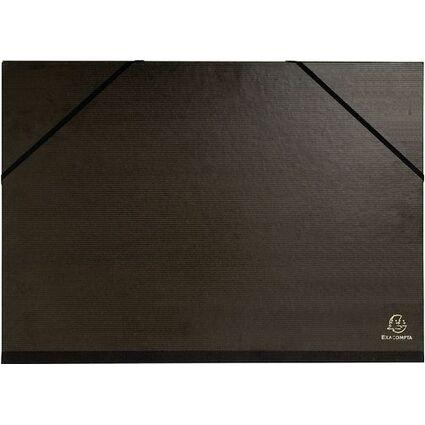 EXACOMPTA Zeichnungsmappe, 320 x 450 mm, Karton, schwarz