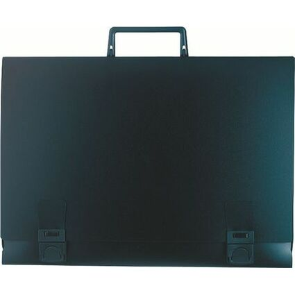 EXACOMPTA Zeichnungsmappe, 520 x 710 mm, PP, schwarz