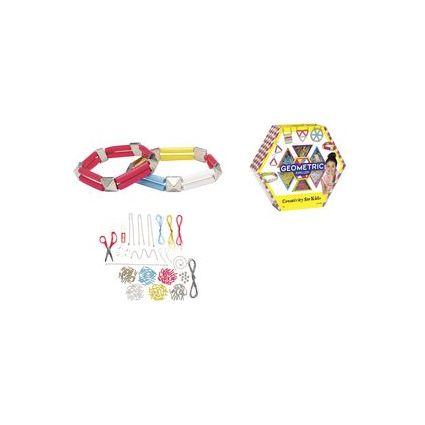 Creativity for Kids Kreativ-Set GEOMETRIC JEWELLERY Maxi-Kit