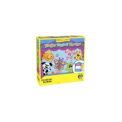 Creativity for Kids Kreativ-Set Finger Puppet Theatre