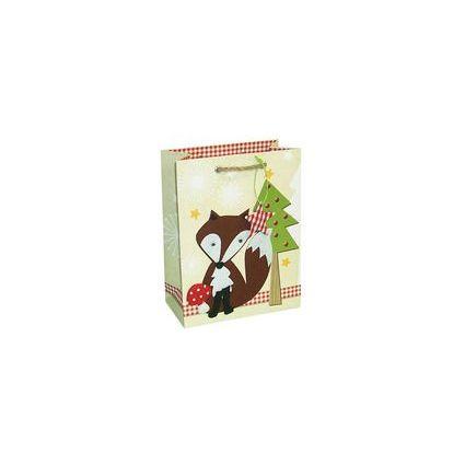"""HORN Weihnachts-Geschenktüte """"Fuchs und Tannenbaum"""""""