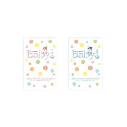 """SUSY CARD Geburtskarte """"Mädchen"""""""