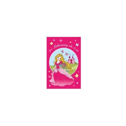 "SUSY CARD Kinder-Geburtstagskarte ""Princess"""